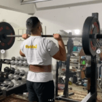 Overhead Press with Rogue Belt