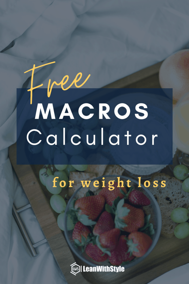 Free Macros Calculator for Weight Loss